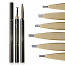 Chì kẻ mày Skinfood Black Bean Eyebrow Pencil
